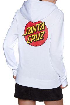 Santa Cruz Classic Dot Damen Kapuzenpullover - White(116497840)