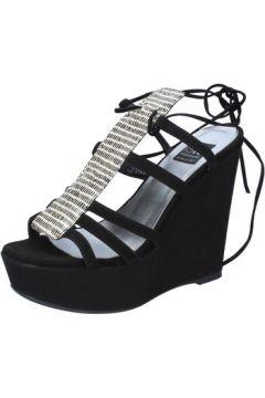 Sandales Islo sandales noir daim BZ328(88514669)
