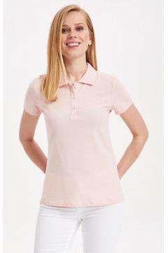 DeFacto Kadın Basic Polo T-shirt(108986451)