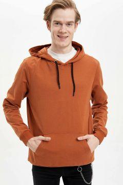DeFacto Erkek Kapüşonlu Slim Fit Sweatshirt(108988521)