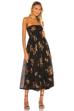Платье миди baja babe - Free People(115065088)