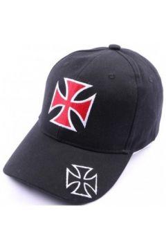 Casquette Divers Casquette Croix de malte noir et rouge(115431583)