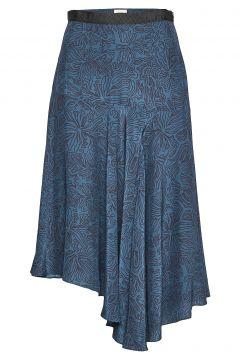 Maggie Skirt Knielanges Kleid Blau MAYLA STOCKHOLM(114164199)