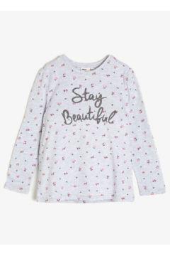 Koton Kız Çocuk Yazili Baskili T-Shirt(89916694)