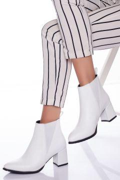 Ayakkabı Frekansı Kadın Beyaz Cilt Peter Bot(121161999)