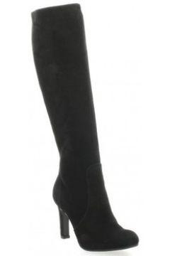 Bottes Donna Più Bottes cuir velours(127908479)