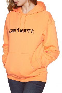 Carhartt Sweat Damen Kapuzenpullover - Pop Orange Black(110373918)