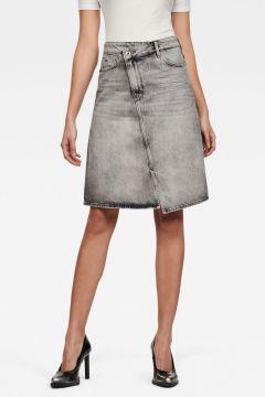 G-Star RAW Women Joci Skirt Grey(118326910)
