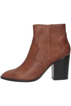 Bottines Exé Shoes Exe\' RIO-477 Texano Femme bronzage(128002130)