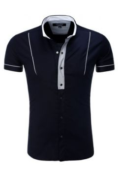 Chemise Carisma Chemisette mode homme T-shirt CRSM9059 bleu(88504348)