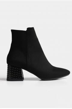 Hotiç Siyah Yaya Kadın Bot & Çizme(124472675)
