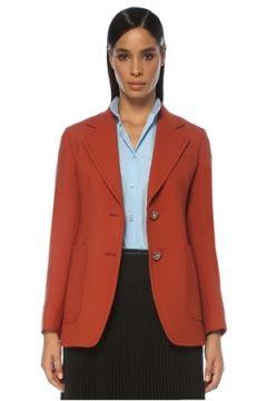 Prada Kadın CEKET Kırmızı 42 IT(120941522)