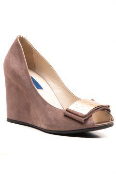 Joop Kadın Vizon Süet Ayakkabı(114226631)