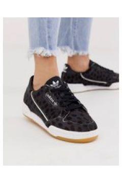 adidas Originals - Continental 80 - Sneaker in Schwarz und Weiß - Schwarz(87105897)