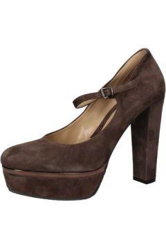 Chaussures escarpins Albano escarpins marron daim AE956(115399597)