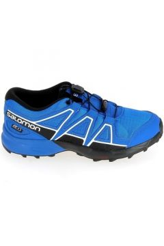 Chaussures enfant Salomon Speedcross CSWP Jr Bleu(128011138)