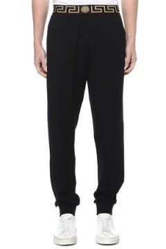 Versace Erkek Greca Border Siyah Jogger Eşofman Altı 4 US(114439454)