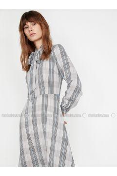 Blue - Dresses - Koton(110322354)