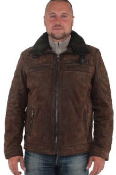 Blouson Pallas Cuir Blouson sélection en cuir ref_don37894-marron(115492370)