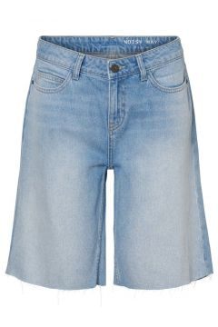 NOISY MAY Regular Waist Denim Short Dames Blauw(115806114)