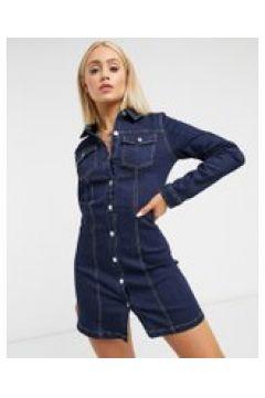 Urban Bliss - Vestito camicia di jeans stretch blu(120964657)