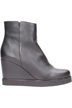 Boots Unisa - Tronchetto black 100% pelle GILDA(101788186)
