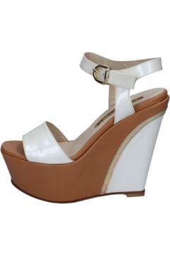 Sandales G.p.per Noy sandales blanc cuir verni BY251(88597563)