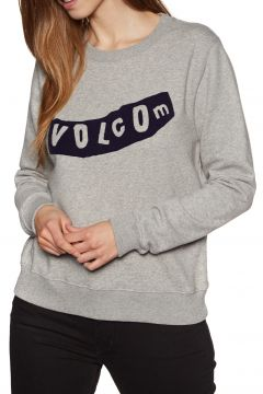 Volcom Sound Check Fleece Damen Pullover - Heather Grey(100266279)