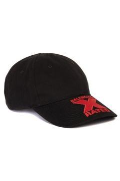 Balenciaga Erkek Siyah Kırmızı Nakışlı Şapka L EU(113464639)