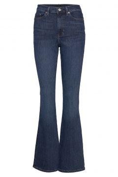High-Rise Flare Jean Jeans Mit Schlag Blau BANANA REPUBLIC(116469663)