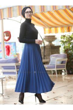 Indigo - Unlined - Skirt - İnşirah(110328137)