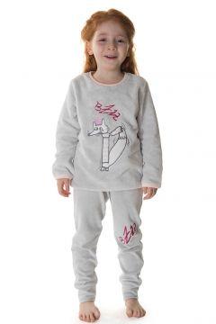 Hays Kids Kız Çocuk Üst Wellsoft Alt Kadife 2Li Uzun Pijama Takımı(100383772)