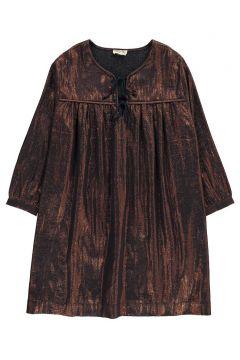 Kleid aus Lamé Violett(113612415)