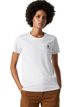 Converse Stacked Logo T-Shirt White(108487347)