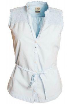 Chemise Gaastra Chemisier bleu ringtale pour femme(115634098)