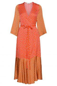 Rodebjer Millie Kleid Knielang Orange RODEBJER(116612356)