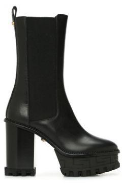 Versace Kadın Siyah Taban Detaylı Deri Bot 36 EU(123342210)