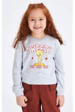 DeFacto Kız Çocuk Warner Bross Lisanslı Sweatshirt(119061377)