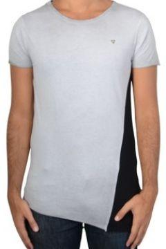 T-shirt Fifty Four Tee Shirt Osier Gris(115430188)