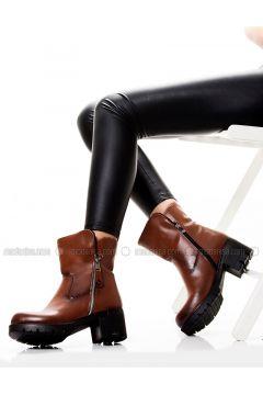 Tan - Boot - Boots - MODA AYAKKABI(110322554)
