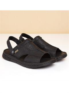 Pierre Cardin Erkek Sandalet Siyah(116842609)