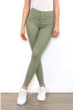 Pantalon Cendriyon Pantalons Kaki Vêtements Femme(115425291)