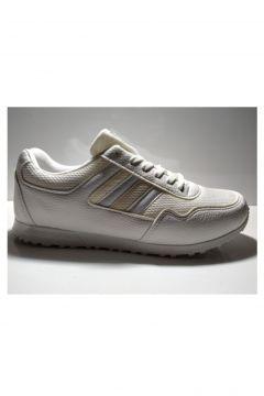 Laguna Erkek Beyaz Fileli Spor Ayakkabı(110940840)