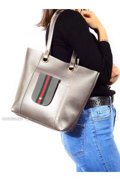 Gray - Shoulder Bags - Vip Moda(110339393)