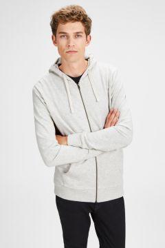 Jack & Jones Holmen Sweat Zip Hoodie Sweatshirt(123369338)