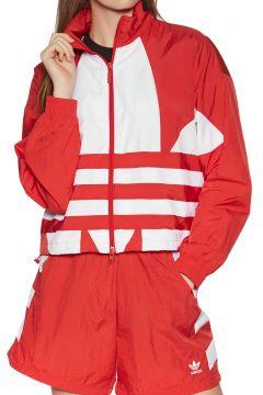 Adidas Originals Large Logo Damen Trainingsjacke - Red(110373811)