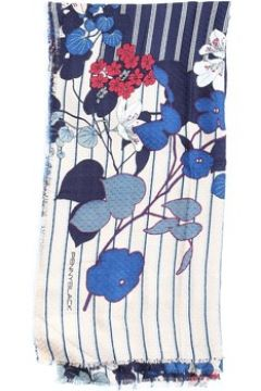Echarpe Pennyblack 55440818 Écharpe femme Bleu et Beige Rouge(127920466)
