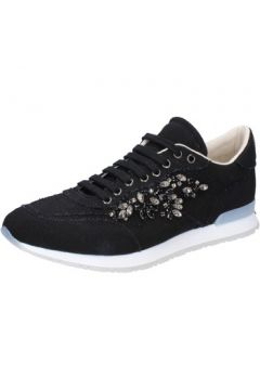 Chaussures Twin Set TWIN-SET sneakers noir textile AB889(88470141)