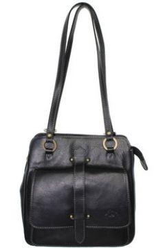 Sac à main Katana Sac porté épaule en cuir ref_kat36760-noir(115555471)