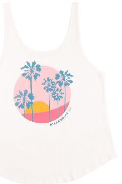 Billabong Double Scoop Tank Top wit(121078944)